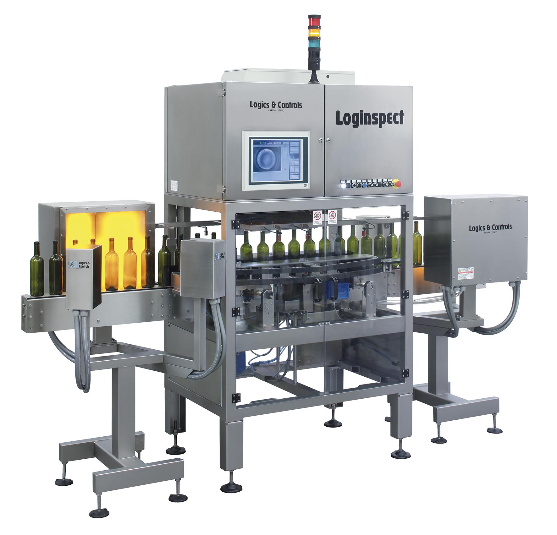 logics & controls bottling line inspection equiment