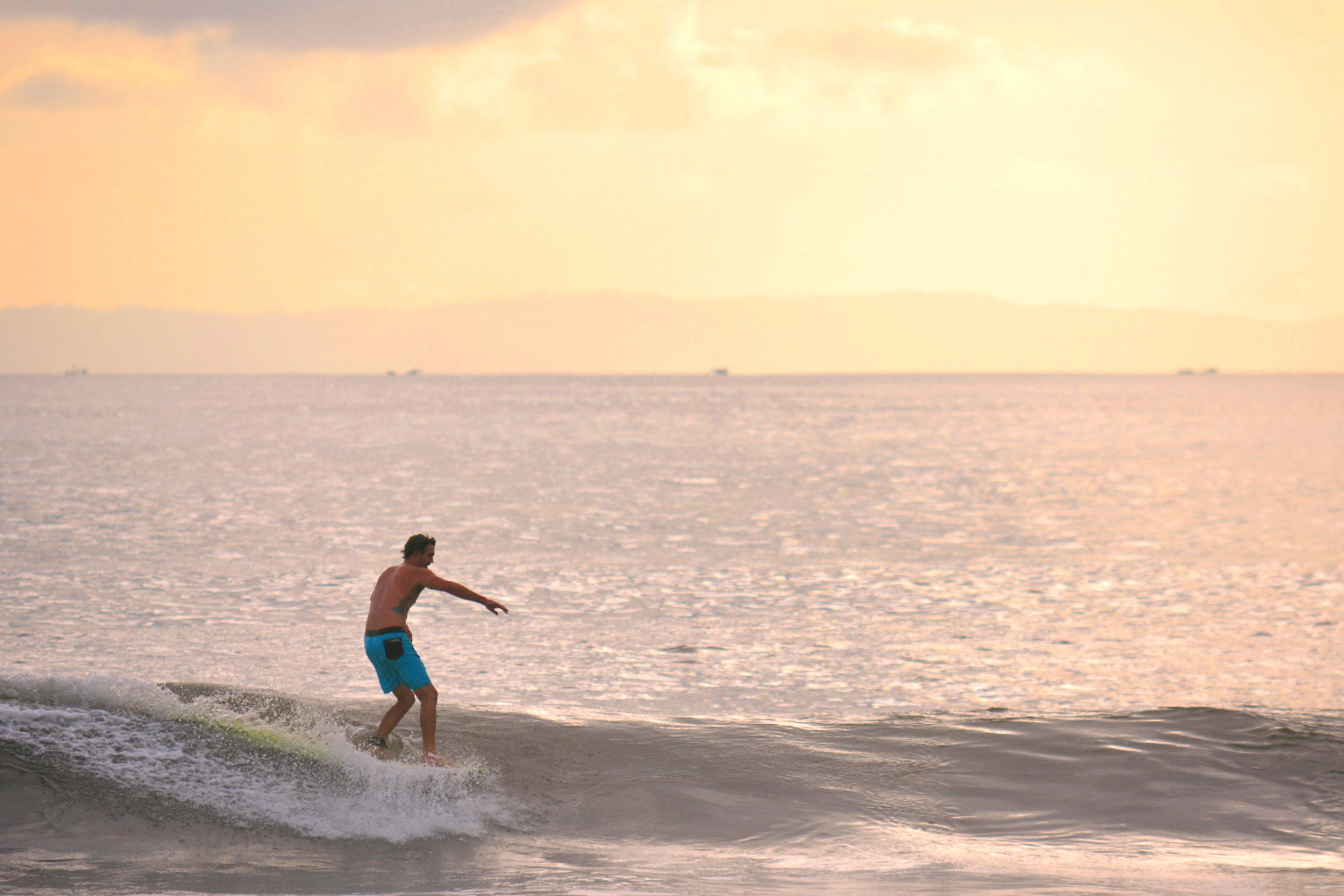 Longboarding in Bali can be rewarding, just as longtime Bali resident and longboarder Mike Horton