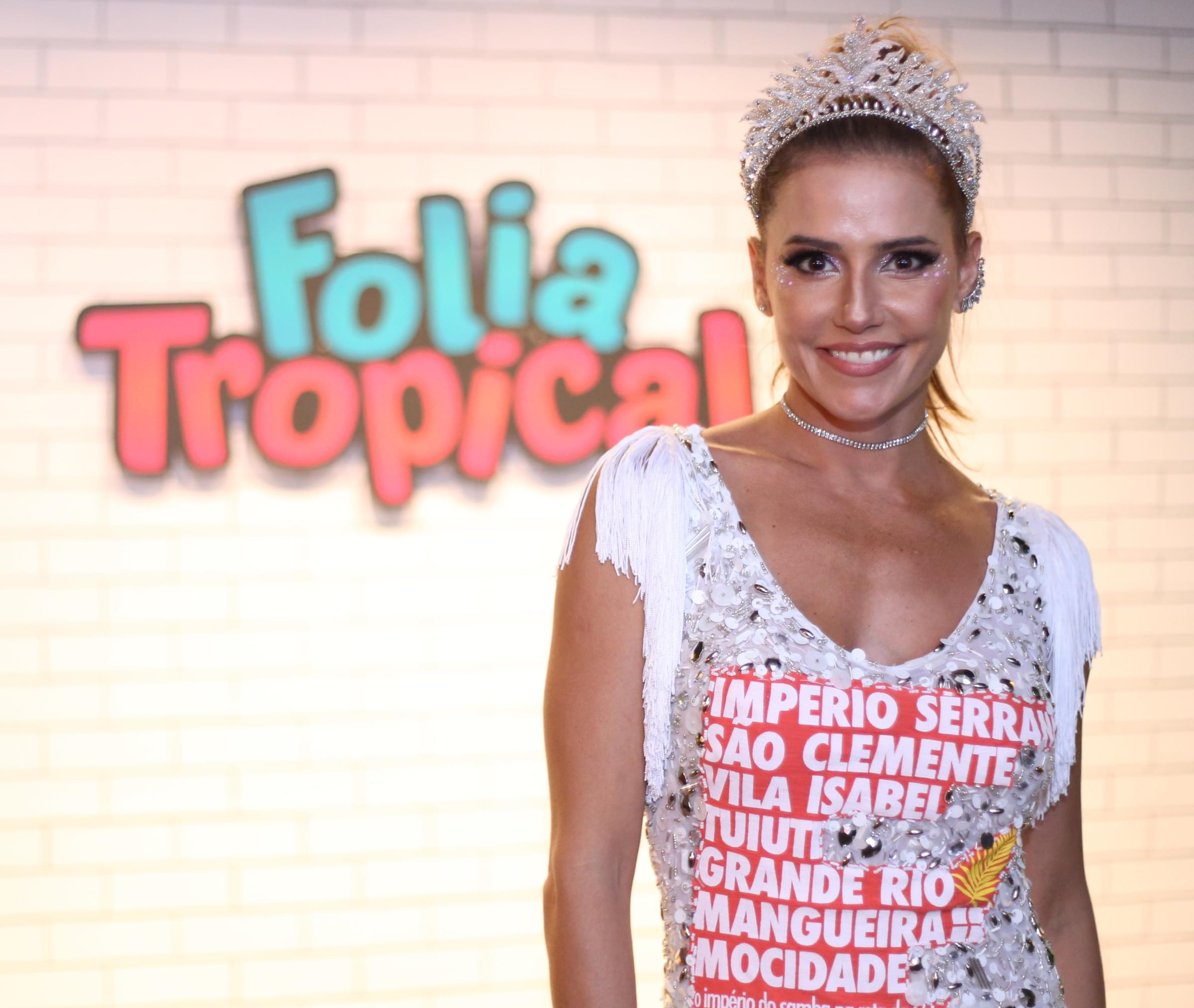 Deborah Seco no Folia Tropical