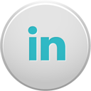 large linkedin button
