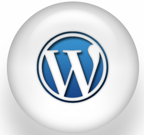large wordpress button