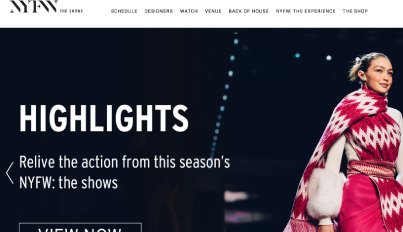 New York Fashion Week, a semi-annual series of events showing international fashion collections, uses Brandcast to create a sole source of truth for updates and event information.