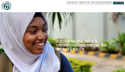 Global Nomads Group, a non-profit organization committed to fostering dialogue and understanding among the world's youth, use Brandcast to power their flagship website.