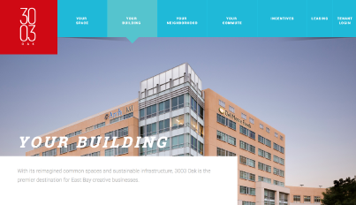 JLL, an investment management company, uses Brandcast to create interactive websites for each of their property listings.