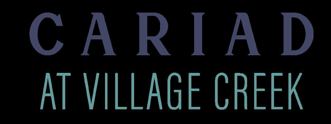 Cariad at Village Creek Logo