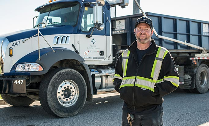 Driver 6794 Waste Connections Canada
