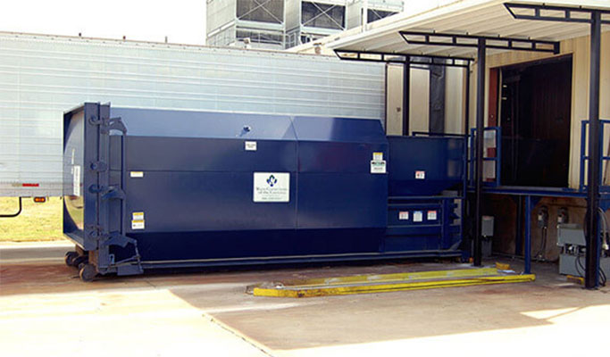 Compactor small Dumpster Rental