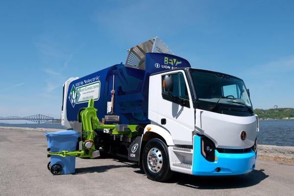 Sustainability Zero+Emission Trucks Waste Management