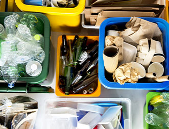 Residential Recycling Waste Management