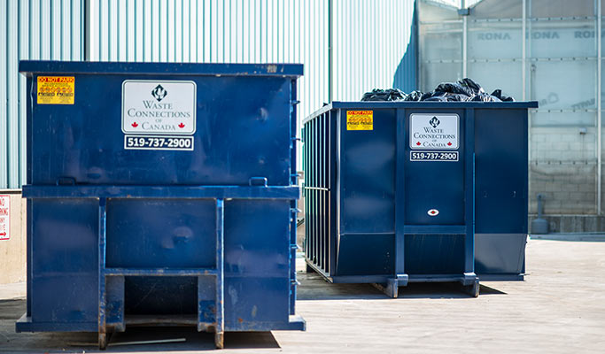 Garbage Pickup Dumpster Rental Dumpster Waste Connections Canada