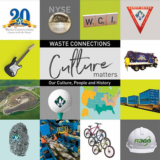 Waste Connections Canada our culture