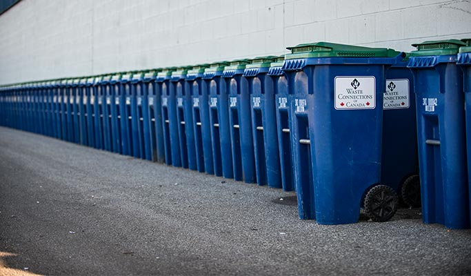 Pickup Container Waste Management