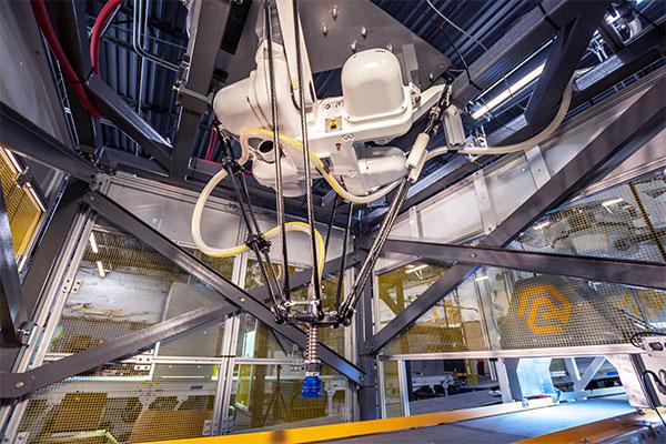 Material Recovery Facility Robot_Single_Horizontal