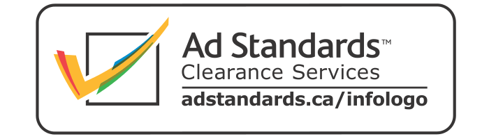A badge for Ad Standards Clearance Services