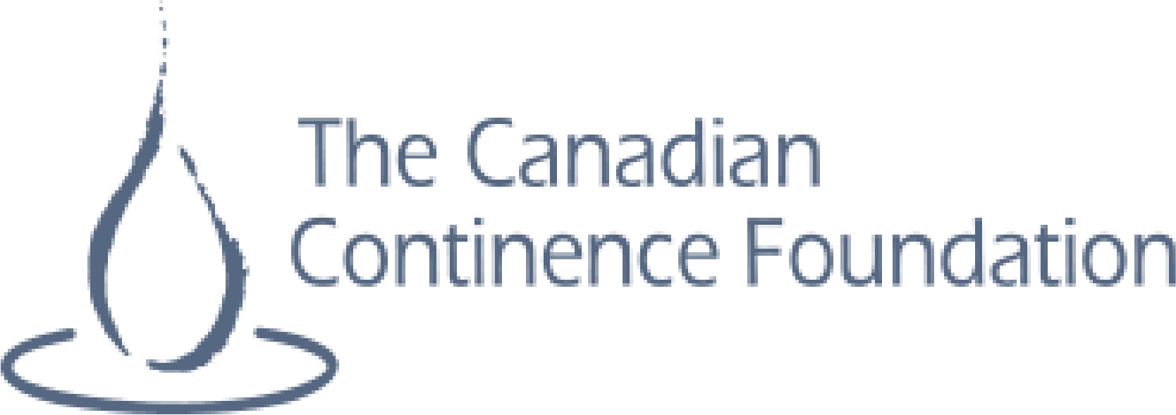 The logo for the Canadian Continence Foundation